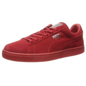 Women's Suede Classic Mono Ref Iced high risk red
